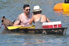 Bayou Boogaloo 2018 114 (Omunene) Tags: bayouboogaloo2018 festival musicfestival neworleans faubourgstjohn bayoustjohn homemadewatercraft kayak longboard canoe shirtless hunk