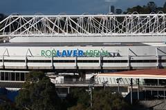Tennis Rod Laver Arena, Melbourne city in May 2018, Victoria, Australia. (Michael J. Barritt) Tags: citystreets streetart melbourne city may 2018 victoria australia