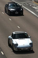 Porsche, 993, Wan Chai, Hong Kong (Daryl Chapman Photography) Tags: porsche lexus lfa 911 pan panning hongkong china sar canon 5d mkiii 70200l apt car cars carspotting carphotography auto autos automobile automoibles 993
