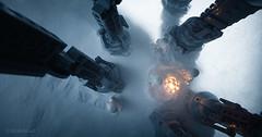 Another Crew, Another Lantern (Avanaut) Tags: tk247 starwars theempirestrikesback snow hoth cold lego minifigure snowtrooper stormtrooper atat originality avanaut toy toyphotography blizzard lantern scifi