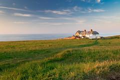 Old Coastguard Houses Weybourne. (andybam1955) Tags: landscape coastal weybourne sky northnorfolk oldcoastgaurdhouses sea norfolk clouds
