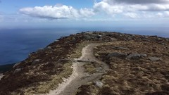 Sunny Day on Goat Fell (rich_brame) Tags: alumni iphone isleofarran nols scotland goatfell mountain ocean firthofclyde hiking peak sun