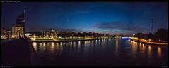 Meuse at night (Falcdragon) Tags: sonya7riialpha zeissloxia2821 ilce7rm2 liège belgium europe city cityscape night river meuse lights sunstars starbursts e emount fe femount