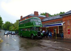 London Bus Company RT3228 (KYY957) on route 339 at Epping Station - 12th May 2018 (2) (Alex-397) Tags: aec rt london bus buses epping preserved heritage londontransport lt