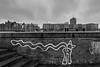 Long tail (tom.leuzi) Tags: 11mm bw blackstone canoneos6d germany hamburg irix irix11mmf4 uwa wolken blackandwhite clouds schwarzweiss street ultrawideangle graffiti deutschland