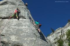 Climbing in Jura (majatravels) Tags: climbing rocks poland polska jura wspinaczka outdoor people sport rock europe