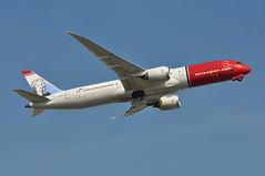 DI7181 LGW-AUS (A380spotter) Tags: takeoff departure climbout gearinmotion gim retraction belly boeing 787 9 900 dreamliner™ dreamliner gckny jonathanswiftirishwriter norwegiancom norwegainairukltd nrs di dy7181 lgwaus runway08r 08r london gatwick egkk lgw