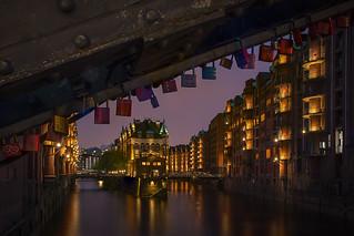 Love locked to Hamburg - Meine Liebe hängt an Hamburg