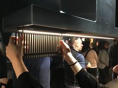 HAIKU HIERRO FUNDIDO (ElRepresentante) Tags: elica eurocucina cocina novedad nuevo milan 2018 envento stand