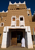 Emarah palace in aba alsaud historical area, Najran Province, Najran, Saudi Arabia (Eric Lafforgue) Tags: arabia arabianpeninsula architecture aseer asir brick castle colourimage doorway emarahpalace fort fortified fortress gulfcountries heritagebuilding historicsite housing ksa ksa0344 middleeast mudbrick najran nopeople onemanonly outdoors rearview saudiarabia traditional travel vertical najranprovince sa