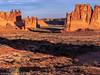 Sunrise (Ramona H) Tags: arches archesnationalpark utah nationalpark sunrise threegossips