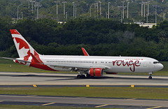 Air Canada Rouge 767 - Tampa (Infinity & Beyond Photography) Tags: air canada rouge boeing 767 b767 tpa tampa international airport airplane airliner aircraft planes