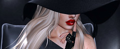Kiss Me Here (Opale Lily) Tags: codex madamenoir kiss lipstick red hat exxess