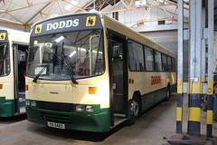DODDS YXI5483 (bobbyblack51) Tags: dodds yxi5483 leyland tiger alexander belfast ulsterbus 1483 east road depot ayr 2018