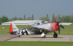 549192 Sywell 05-05-18 (IanL2) Tags: republic p47 thunderbolt nellie sywell aerodrome warbird jug ww11 fighter aircraft