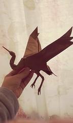 """Grulla"" by Roman Diaz (matamadae) Tags: grulla origami roman diaz papercraft bird passaro"