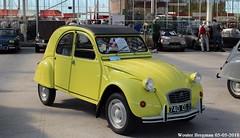 Citroën 2CV4 Spécial 1977 (XBXG) Tags: 740qs37 citroën 2cv4 spécial 1977 2cv citroën2cv 2cv6 2pk eend geit deuche deudeuche yellow jaune cédrat special citromobile 2018 citro mobile expo haarlemmermeer stelling vijfhuizen nederland holland netherlands paysbas carshow vintage old classic french car auto automobile voiture ancienne française vehicle outdoor zdz