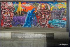 Charleroi / Marcinelle (hanquet jeanluc) Tags: 2018 262 262morts 262victimes catastrophe charbon charbonnage charleroi machine marcinelle mine mineurs rueducazier80 fresques fresquesmurales graffitis streetart tags qdub liege belgium be