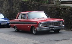 1964 Ford Falcon (occama) Tags: dhj926b 1964 ford old car cornwall uk usa american red coupe falcon