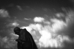 beneath the sky (Neko! Neko! Neko!) Tags: blackandwhite blackwhite bw mono monochrome sky clouds contrast expression expressionism pinhole lensless