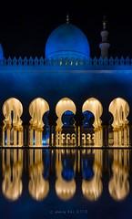 Reflection -SZM - Abu Dhabi (go-Foto) Tags: abu dhabi sheykh zayed mosque