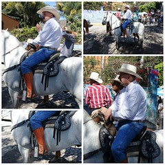 Tall in the saddle (posterboy2007) Tags: ajijic mexico cowboy horse mexican saddle horseman