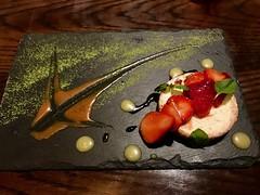 Lime Caramel Cheesecake (Blue HazeG) Tags: cheesecake iphone7s dessert