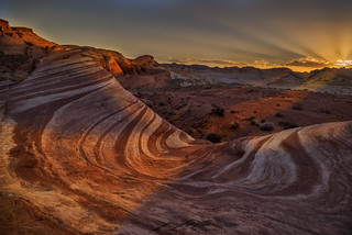 Firewave, valley of fire state park