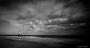 Show me your darkness... (Leigh-Ann Mitchell Photography) Tags: rattray lighthouse sky moody black and white beach sea sand scotland seascape clouds