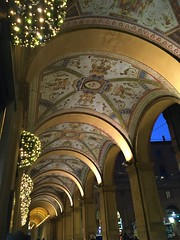 Via Farini Portici (indigo_jones) Tags: viafarini bologna italia italy shopping portico portici colonnade decorative decorativearts decorated gilded gold gilt shoppingstreet thingstoseeinbologna arches architecture