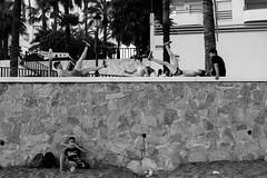 Boys at work. (markoallan) Tags: marbella blackwhite streetphotography