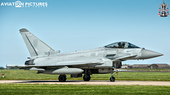 Eurofighter Typhoon FGR4 ZJ914 'WARLORD11'