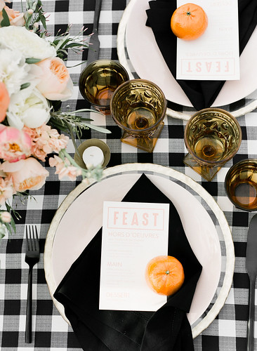 "Black Gingham Table Setting • <a style=""font-size:0.8em;"" href=""http://www.flickr.com/photos/81396050@N06/42234731412/"" target=""_blank"">View on Flickr</a>"