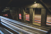 Light Trails Under Ground (tylerjacobs) Tags: sony a6000 sigma 16mm f14 wide angle landscape chicago city illinois down town downtown urban street photography long exposure light spring trails cars lines