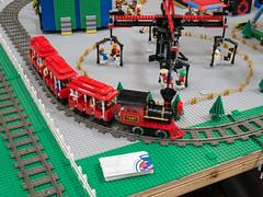BayLUG Maker Faire 2018 004 (Bill Ward's Brickpile) Tags: lego baylug makerfaire bayltc makerfaire2018 maker make layout legotrains