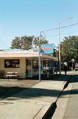Santa Cruz (Travis Estell) Tags: 35mmfilm california californiaonfilm canonae1 fostersfreeze kodakportra400 portra400 santacruz santacruzcounty santacruzonfilm thedarkroom thedarkroomlab film unitedstates us