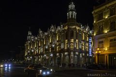 Great Theatre of Havana at Night (Snappy_Snaps) Tags: cuba havana caribbean oldhavana townsquare city clocktower internationallandmark steeple belltower tower oldtown hoteldevillebasilica streetlight dome greattheatreofhavana granteatrodelahabana aliciaalonso