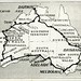 1. Map of Australia Showing Route Followed On Motor Journey of 10,000 miles (Royal Australian Historical Society) Tags: rahs conigrave 1936