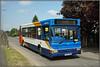 34816, Lower Street (Jason 87030) Tags: dart dennis slf pointer red white blue orange stagecoach bus midlands warks warwickshire rugby newbold roadside lamp tree light sunny may 2018 sony alpha a6000 nex lens 34816 3 px06dwa
