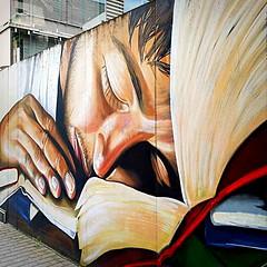 Frankfurt 2018.05.20. Mural 6.2 - Artists NAXOS BANDE (Rainer Pidun) Tags: mural streetart urbanart publicart frankfurt