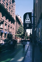 000004 (emebecé) Tags: minox 35gl agfa vista 400asa santiago chile film 35mm analoga analogue down town street