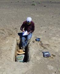 Xmas Valley 9 (Wolfram Burner) Tags: woolly mammoth survey fossils footprint path geology uoregon paleontology blm exploration research behavior