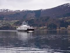 Ferge på veg - - Ferry on its way (erlingsi) Tags: ferry transportation volda crossing fjord folkestad norway panasonicgh5 panasoniclumix