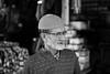 An interesting face (michael.mu) Tags: jerusalem muslimquarter theleicameet best dailylife people leica m240 50mm leicaaposummicronm50mmf2 monochrome streetphotography blackandwhite bw