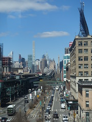 201804153 New York City Queens (taigatrommelchen) Tags: 20180416 usa ny newyork newyorkcity nyc manhattan queens sky icon urban city skyline street bridge