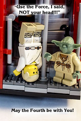 May the Fourth be with you! (Mary Wardell) Tags: lego minifigs starwars maythefourthbewithyou toys fun ps