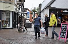 Signs (Bury Gardener) Tags: streetphotography street streetcandids candid candids people peoplewatching folks strangers snaps burystedmunds suffolk england eastanglia uk britain nikon nikond7200 cornhill