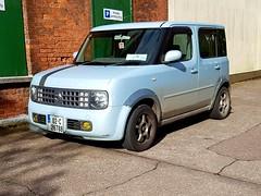 2002 Nissan Cube (Ross.K) Tags: 2002 nissan cube bnz11 blue 14 02c26788 nissancube jdm cr14de