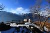 Val d'Aosta - Val d'Ayas, Challand St Victor: lago di Villa, belvedere (mariagraziaschiapparelli) Tags: valdaosta valdayas inverno allegrisinasceosidiventa challandsaintvictor lago lagodivilla