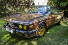 "1973 BMW 3.0 CSI Coupe ""Woody"" (The Adventurous Eye) Tags: 1973 bmw 30 csi coupe woody wooden"